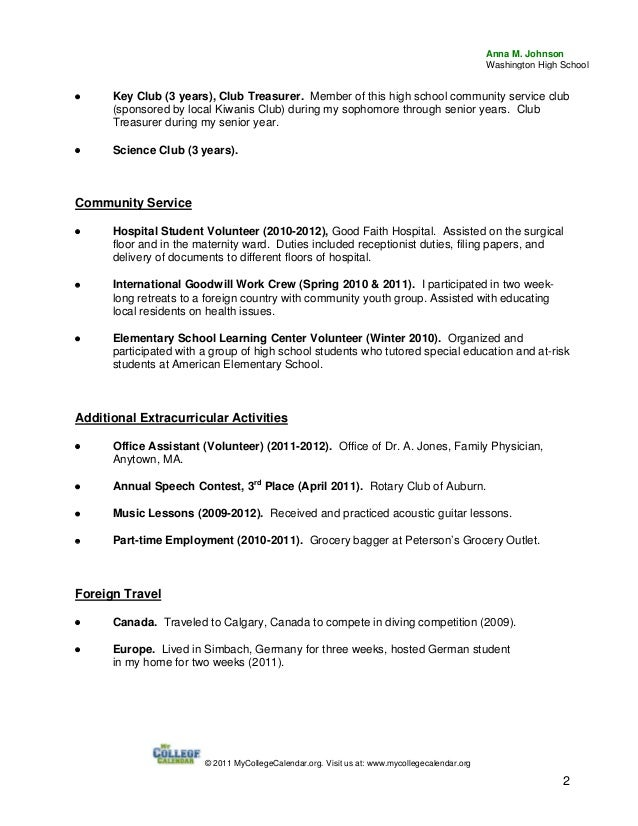 High School Acting Resume Template Http Topresume Info Resume Free Resume  Templates  High School Resume Format