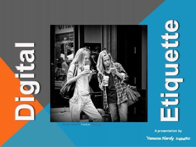 (lizzard_nyc,2010) Found on flickrcc.netA presentation byVanessa Hardy 11494821