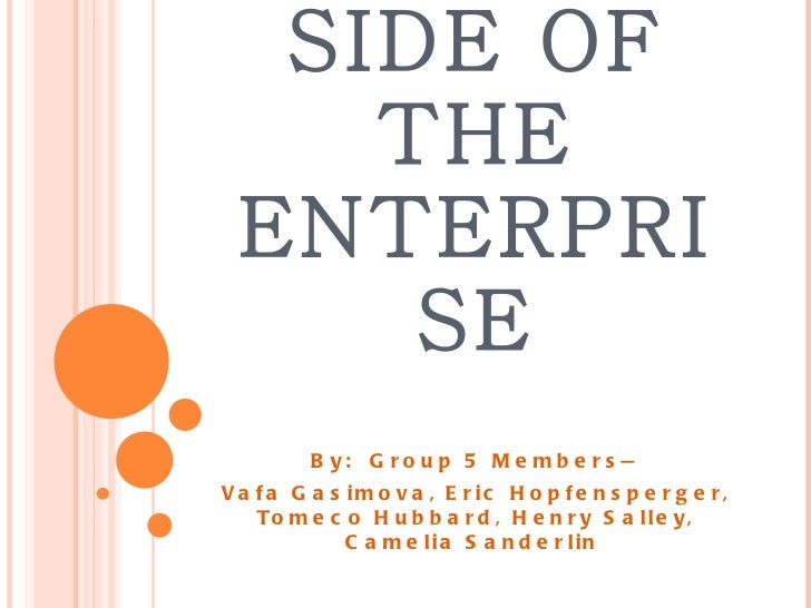STUDENT AFFAIRS SIDE OF THE ENTERPRISE By:  Group 5 Members— Vafa Gasimova, Eric Hopfensperger, Tomeco Hubbard, Henry Sall...