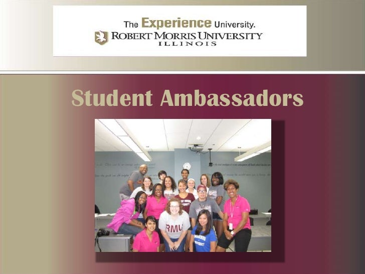 Student Ambassadors <br />