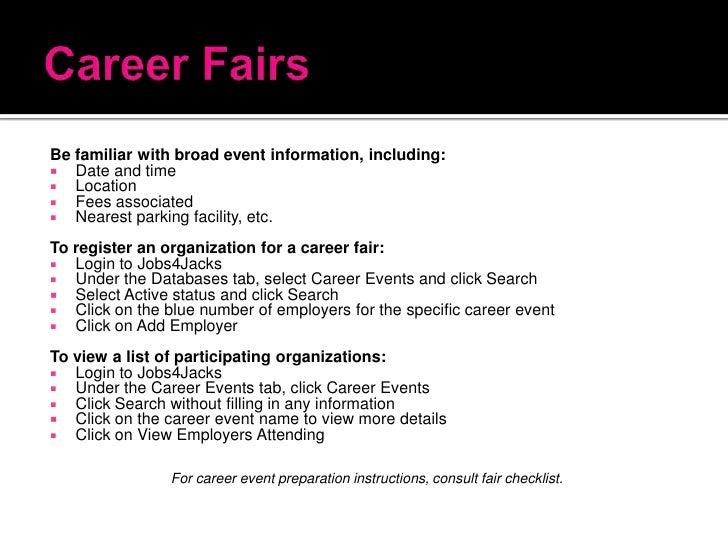 career fair thank you letter
