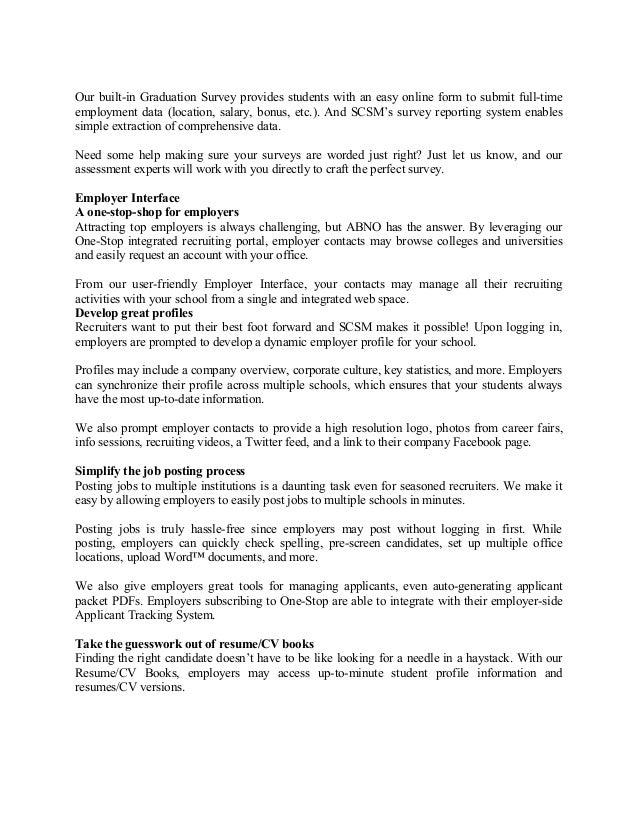 Student Career Service Management System