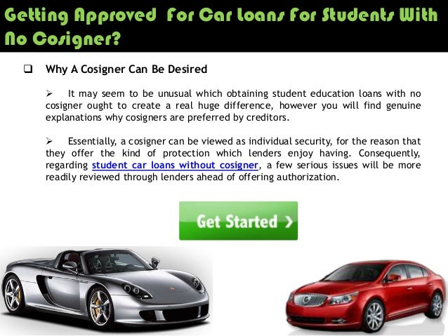 Top student loans without a co-signer 2018