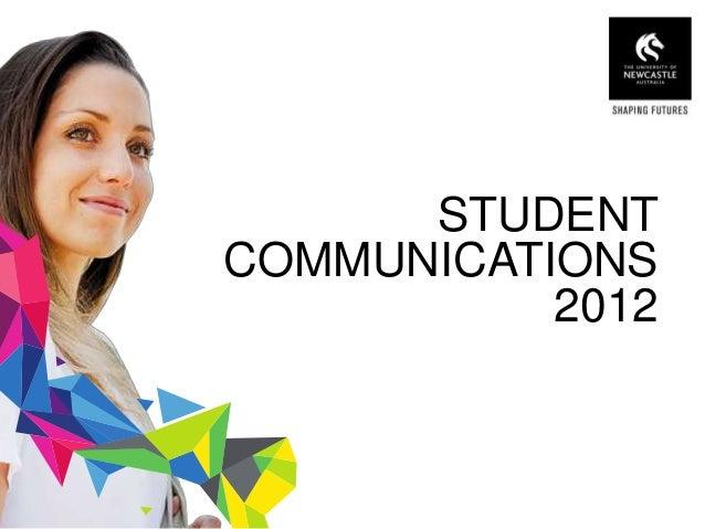 STUDENT COMMUNICATIONS 2012