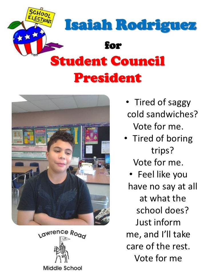 posters for student council