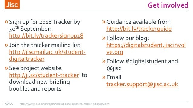 student digital experience tracker 2018 webinar 9 october17