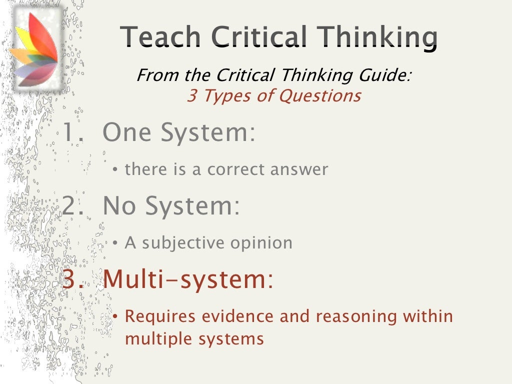 the critical thinking company address Integrate critical thinking skills, logic, and pattern recognition into your homeschool with resources and workbooks from the critical thinking company hear about sales, receive special offers & more.