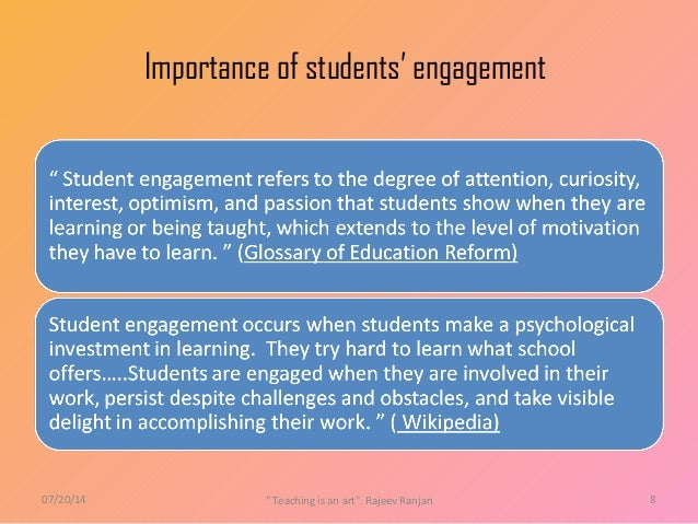 what is student engagement pdf