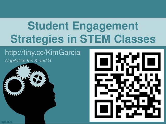 strategies to improve student engagement Student engagement occurs when students make a psychological investment in learning they try hard to learn what school offers they take pride not simply in.