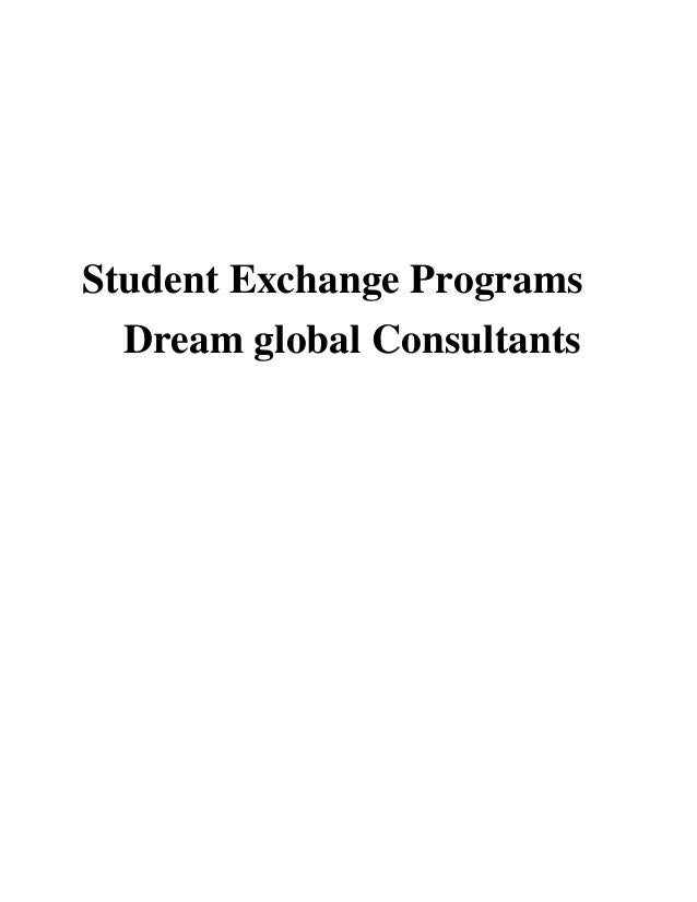 Student Exchange Programs Dream global Consultants