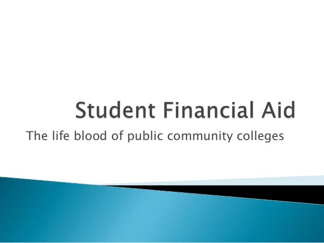 The life blood of public community colleges