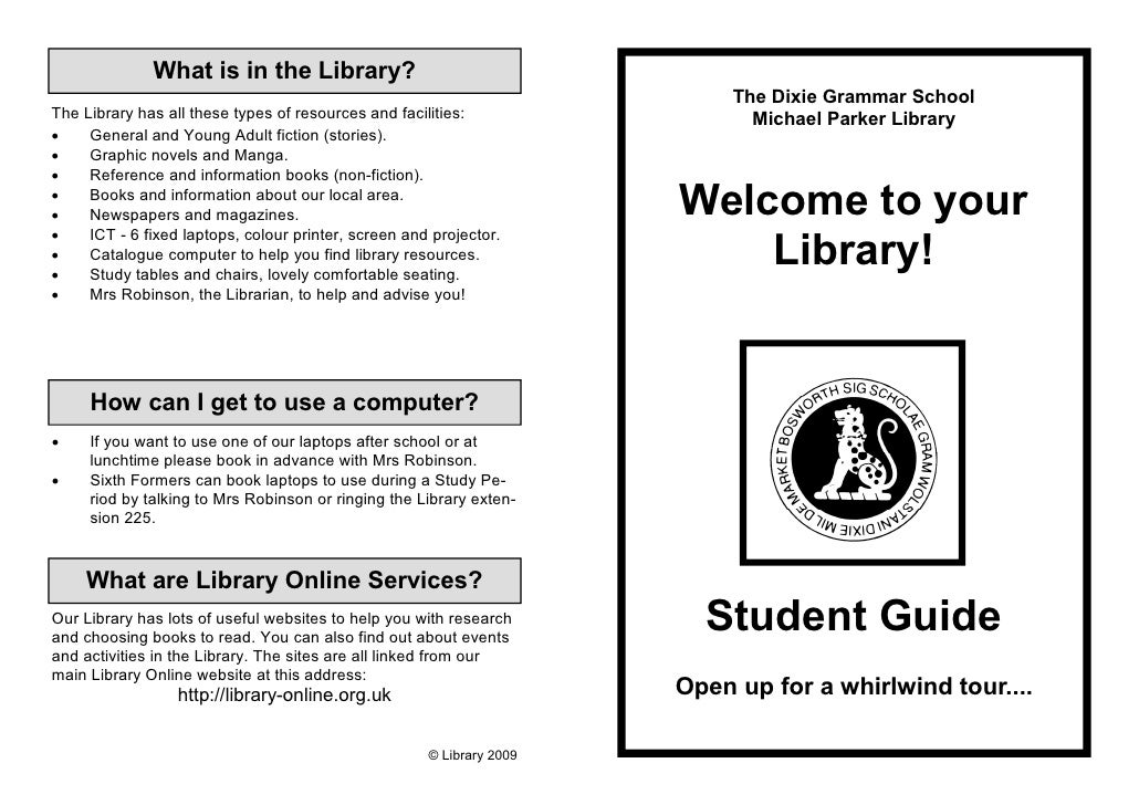 What is in the Library?                                                                            The Dixie Grammar Schoo...
