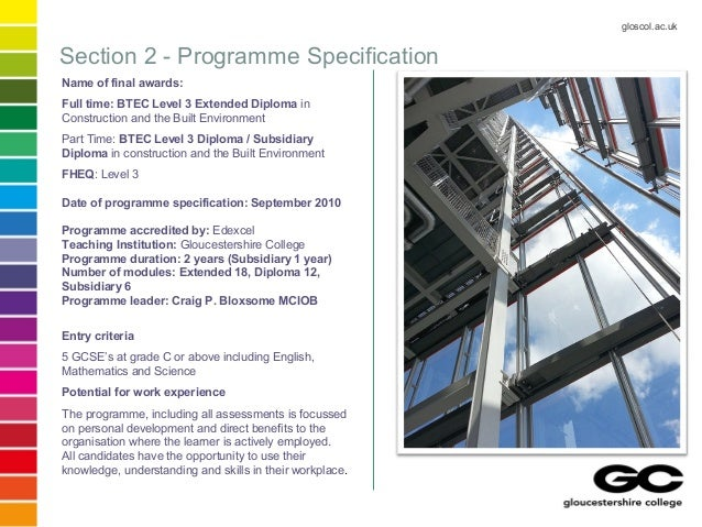 btec construction coursework The construction team is working on developing more and more authorised assignment briefs to cover all the units for the new btec nationals in construction currently, we have most units covered, and the rest of the aabs will be available soon.