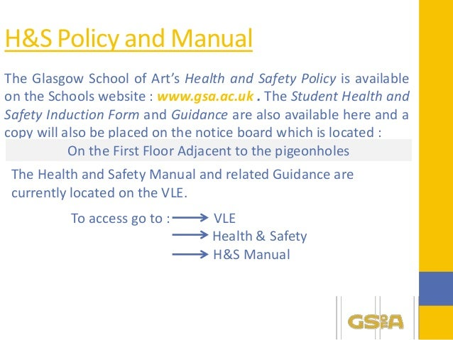 Student Health And Safety Induction Presentation
