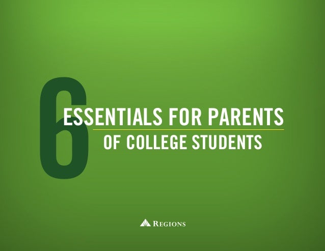 6essentials for parents of college students