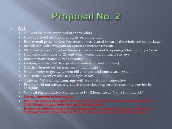 Student laundry upgrade presentation proposal no altavistaventures Gallery