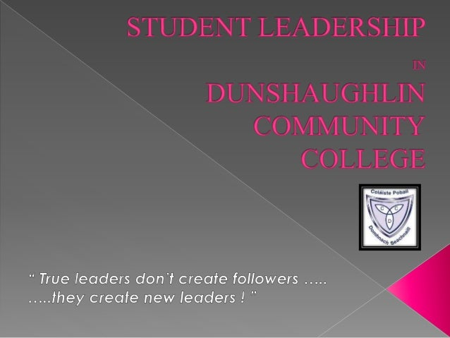 Student Leadership opportunities in our school are now formally categorised into three areas:  Student Council  Peer Men...