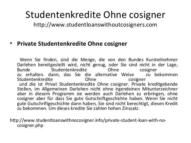 • Private Studentenkredite Ohne cosigner Wenn Sie finden, sind die Menge, die von den Bundes Kursteilnehmer Darlehen berei...