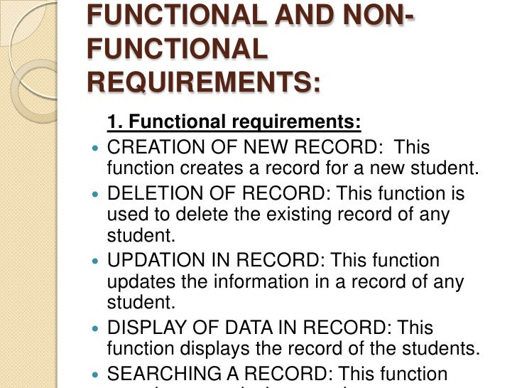 online enrollment system thesis sample