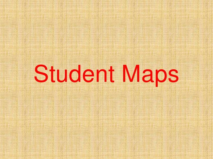 Student Maps<br />