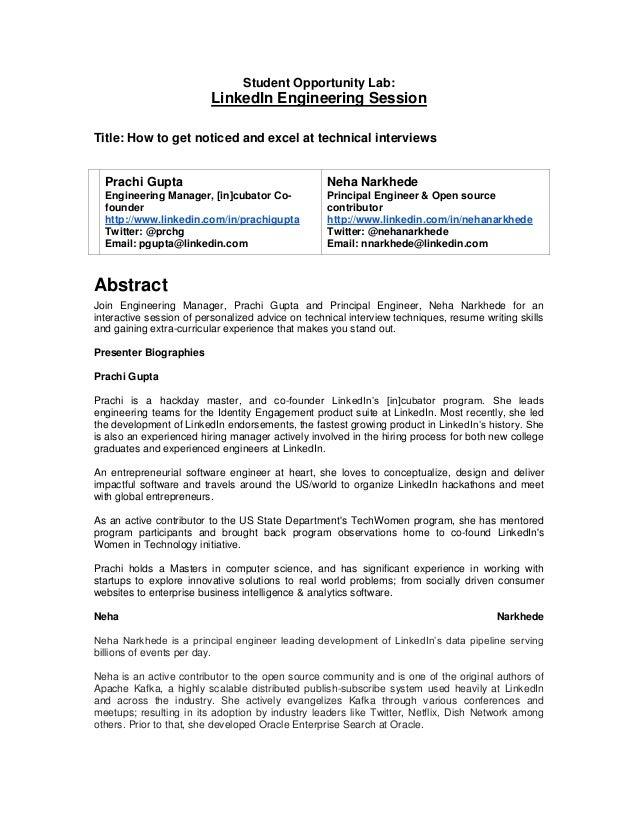 Grace Hopper Resume.Grace Hopper Conference Student Opportunity Lab