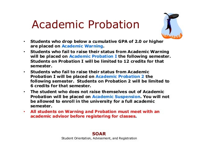 How to Write an Excellent Academic Probation Letter