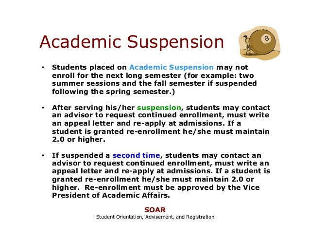 Nmsu a online student orientation part 1 for Academic probation letter template