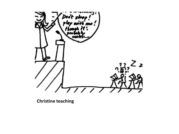 Christine teaching<br />