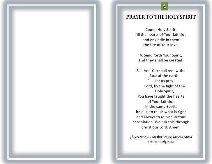 How to Write the Prayer of the Faithful
