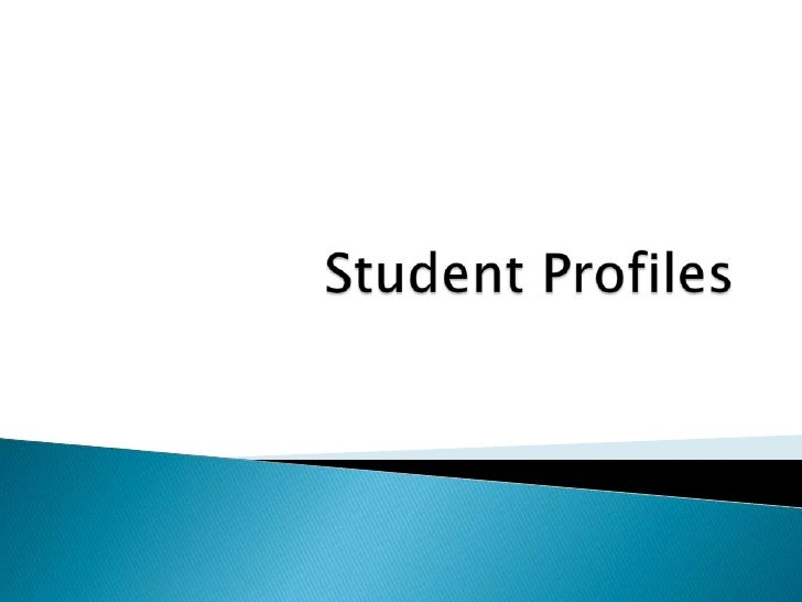 Student Profiles<br />