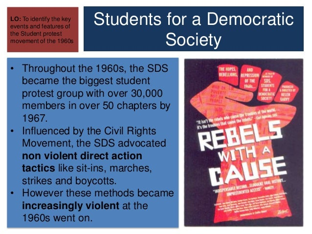 students for a democratic society sds in the early 1960s