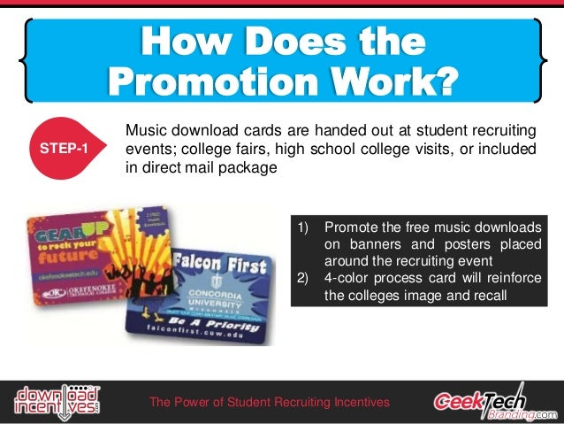 Incentive prizes for high school students