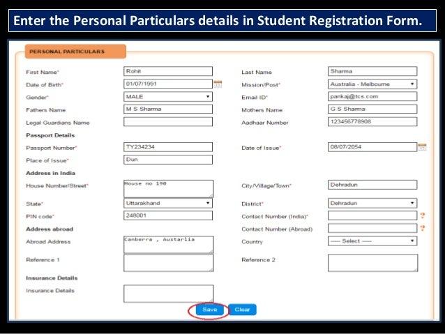 Student Registration At Madad