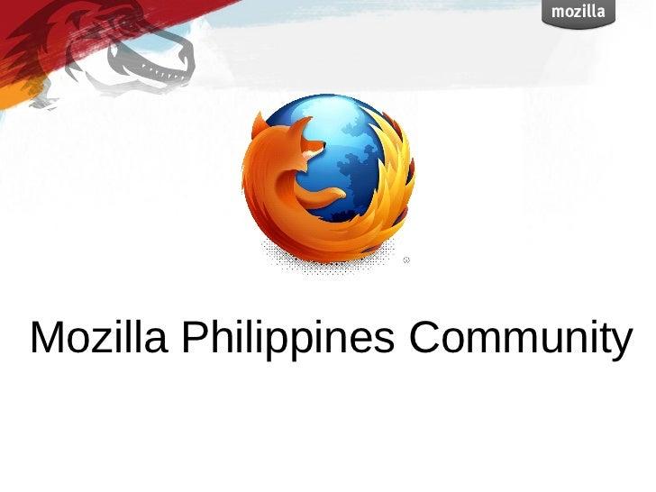 Mozilla Philippines Community