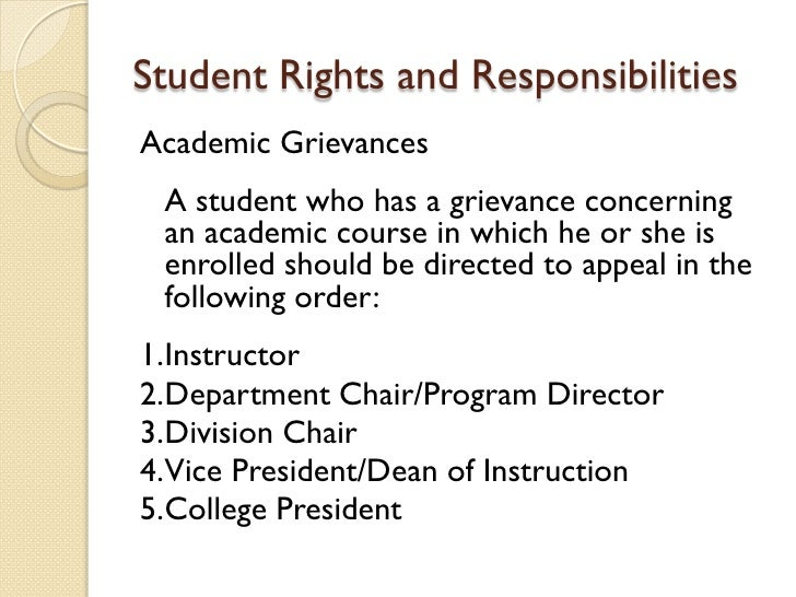 rights and duties of a student Continue in this way, with students choosing rights to throw overboard each time the balloon descends and  understanding rights and responsibilities grades 4–6.