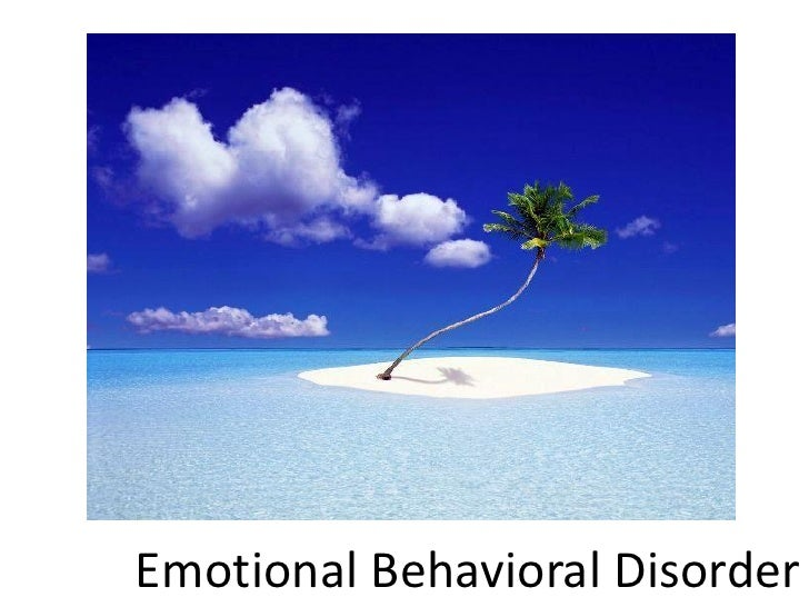 emotional disorder behavior Conduct disorder is a serious behavioral and emotional disorder that can occur  in children and teens learn more from webmd about its.