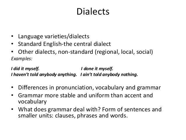 standard and nonstandard english pdf
