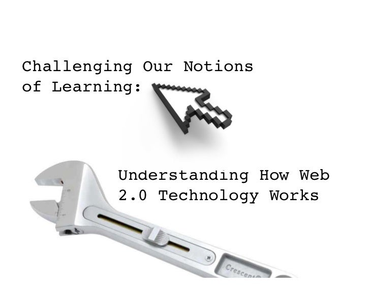 Challenging Our Notionsof Learning:         Understanding How Web         2.0 Technology Works