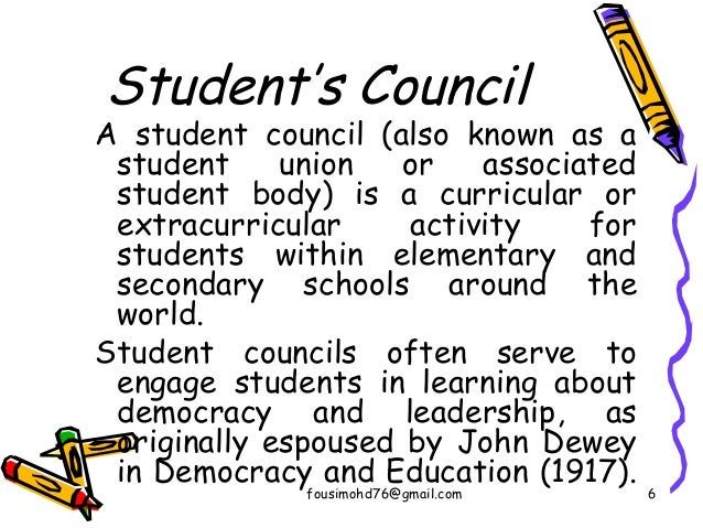 Students and staff council