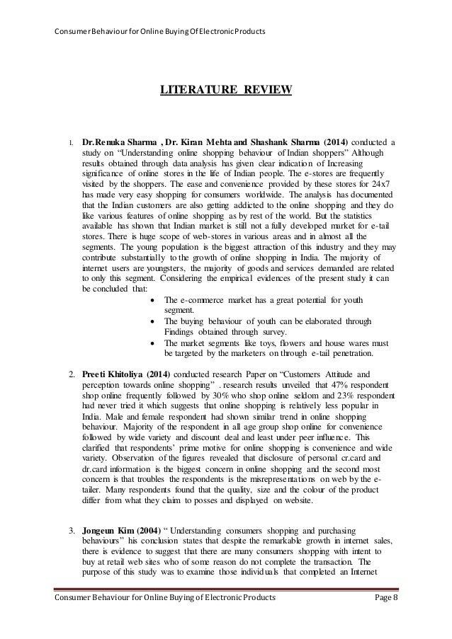 Buying Behavior Literature Review  Explaining The Consumer Decision  Buying Behavior Literature Review
