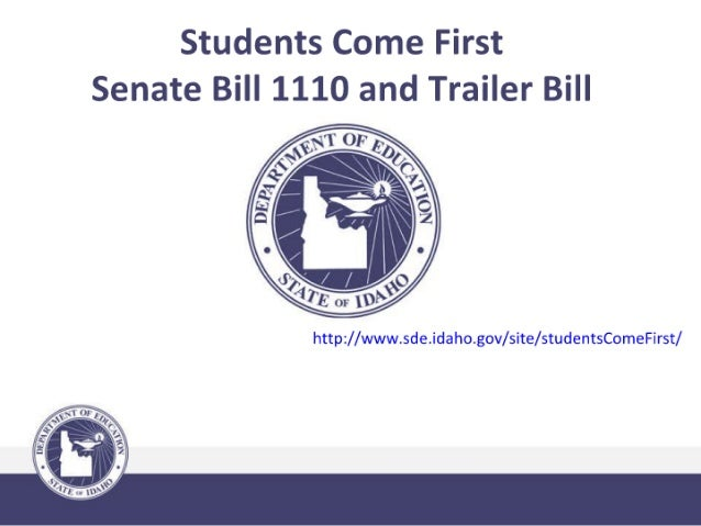 Students come first sb 1110