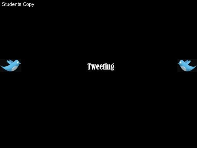 Tweeting Students Copy