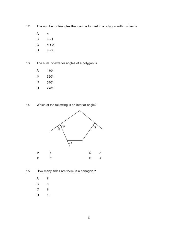 Modoule 2 Pmr Polygons Iii