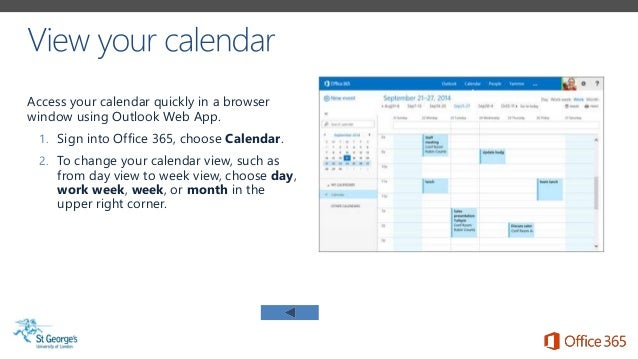 sgul office 365 email calendar on the go adapted from microsoft