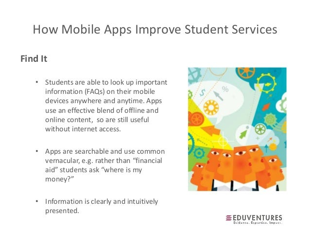 Student services for mobile natives, apps and the future of
