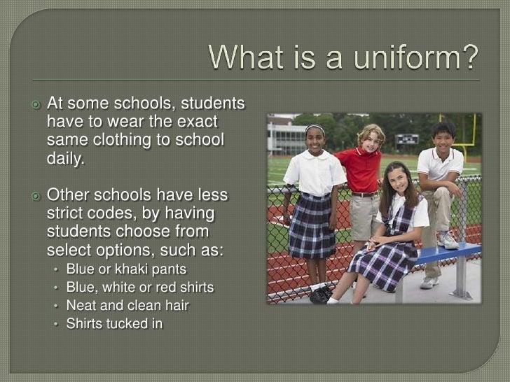 Are school uniforms a good idea