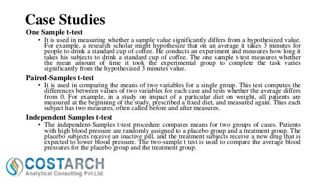 Pre and post test results research paper