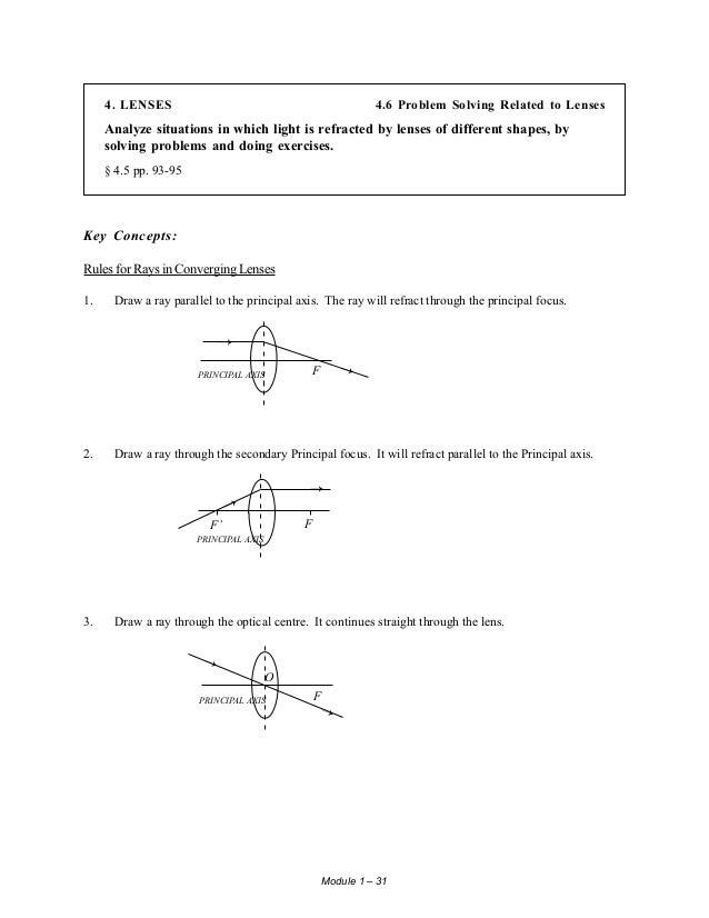 student study guide physics 534 rh slideshare net Refraction of Light in Water Refraction of Light