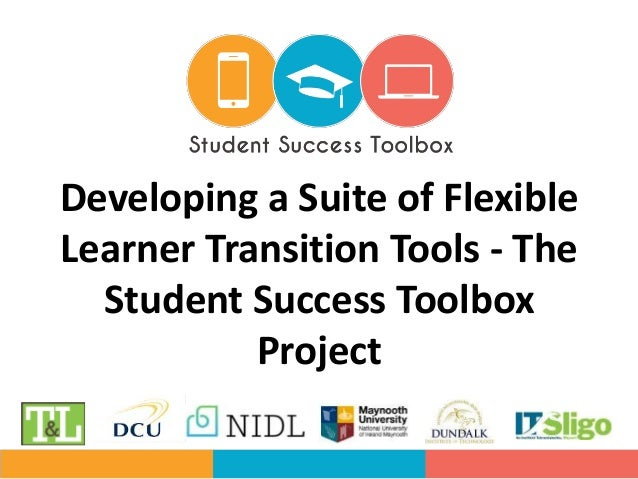Developing a Suite of Flexible Learner Transition Tools - The Student Success Toolbox Project