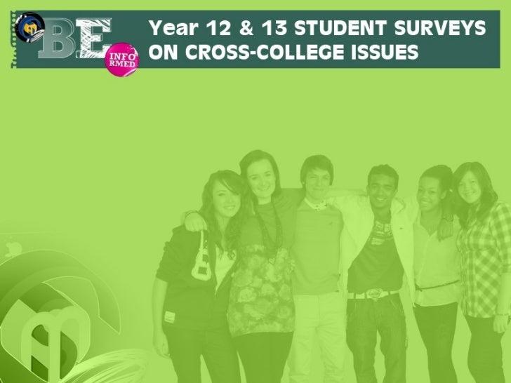 Student survey slides june 2012